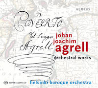 AE10047 Agrell, Johan Joachim Orchestral works