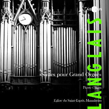 AE10081 Langlais, Jean Suites pour Grand Orgue