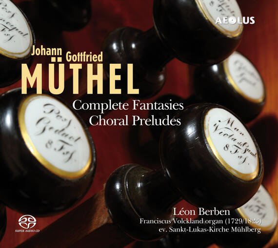 AE11131 Muethel, Johann Gottfried Complete Fantasies | Choral Preludes