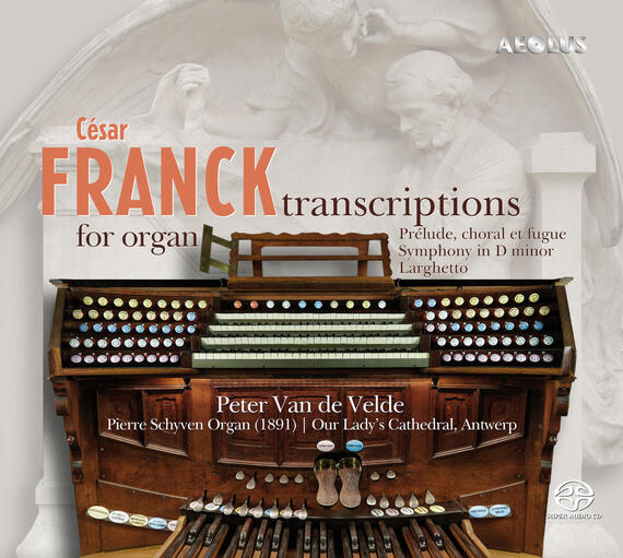 AE11241 Franck, César Transcriptions for organ