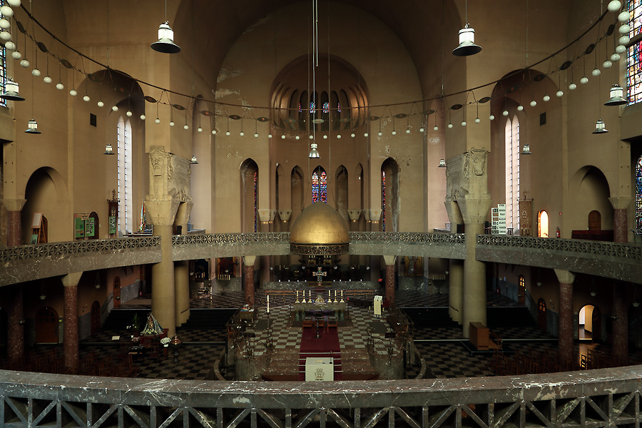 Interior of the St.Laurentiuskerk, Antwerp
