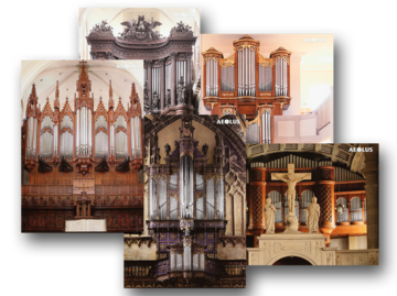 Organ post cards