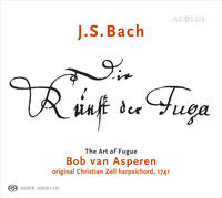 "Bob van Asperen receives ""Preis der deutschen Schallplattenkritik"" for ""Art of Fugue"""